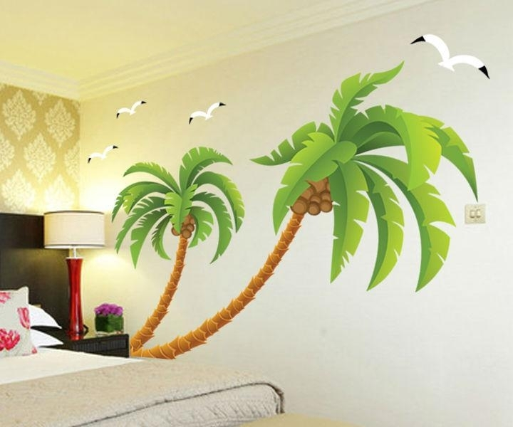 Go To The Beach Wall Stickers For Kids Rooms Home Decor Diy With Regard To Home Wall Art (Photo 7 of 10)
