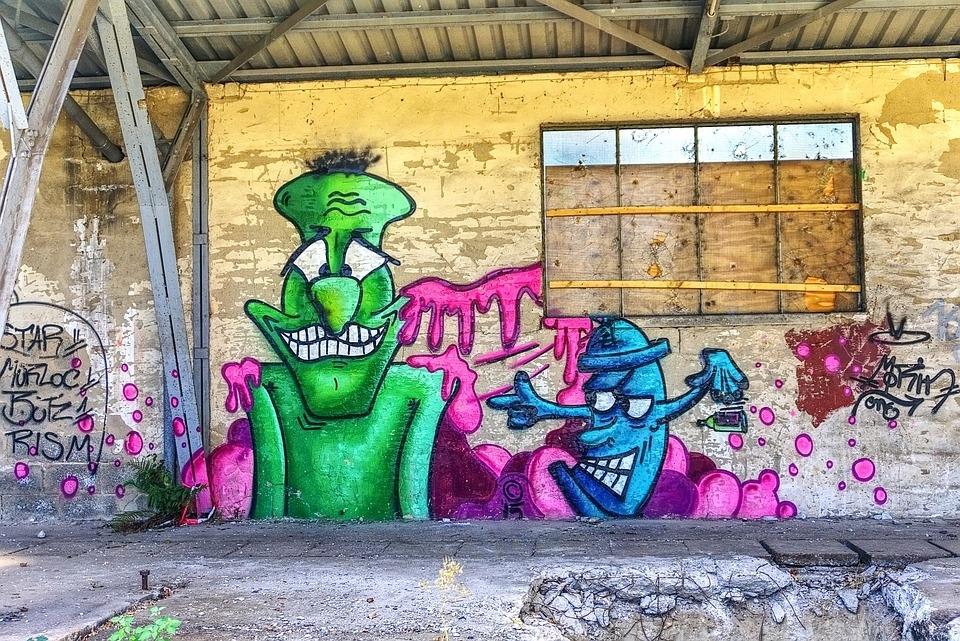 Graffiti Wall Art · Free Photo On Pixabay With Regard To Graffiti Wall Art (Image 2 of 10)