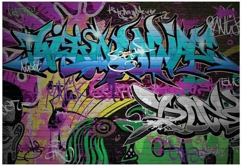 Graffiti Wall Urban Art Photo – Allposters.ca Intended For Graffiti Wall Art (Photo 3 of 10)