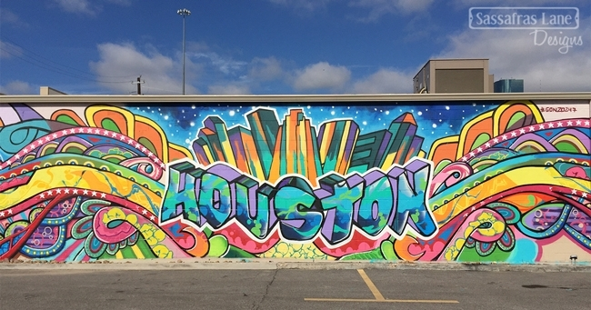 Graffiti Walls In Eado Houston – Sassafras Lane Designs For Houston Wall Art (Photo 4 of 10)