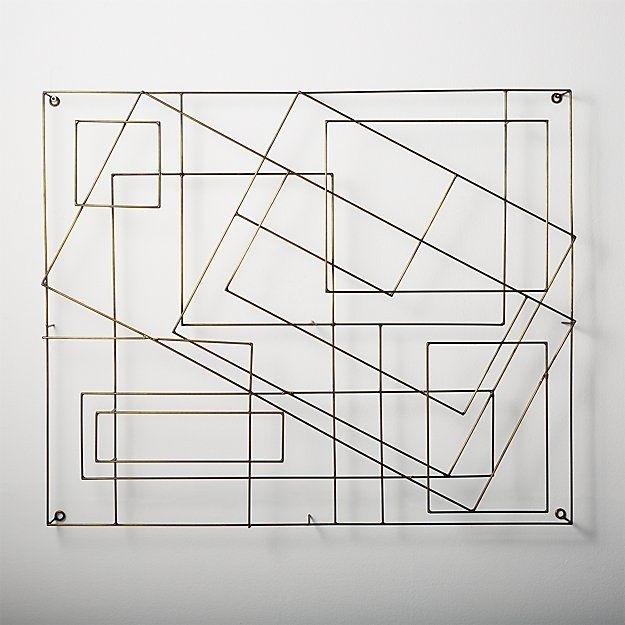 Graham Wire Wall Art | Masons Bedroom | Pinterest | Wire Wall Art With Wire Wall Art (View 5 of 10)