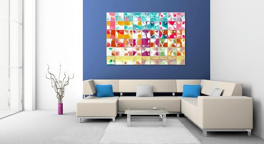 Great Ideas Contemporary Wall Art Decor | Jeffsbakery Basement Regarding Modern Wall Art Decors (Image 5 of 10)