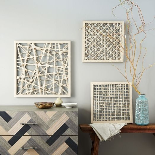 Handmade Paper Wall Art | West Elm | Beach Decor | Pinterest | Paper Regarding West Elm Wall Art (View 4 of 10)