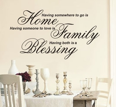 Having Somewhere To Go Is Home Wall Art Sticker Quote – 4 Sizes – Wa19 Within Home Wall Art (View 1 of 10)