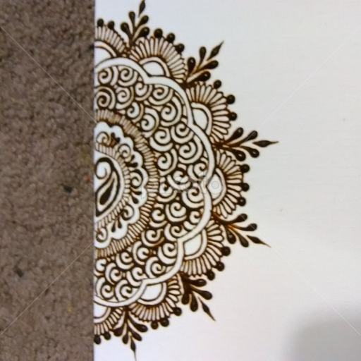 Henna Art Canvas Prints | All Drawing | Drawing | Pixoto Throughout Henna Wall Art (Image 5 of 10)