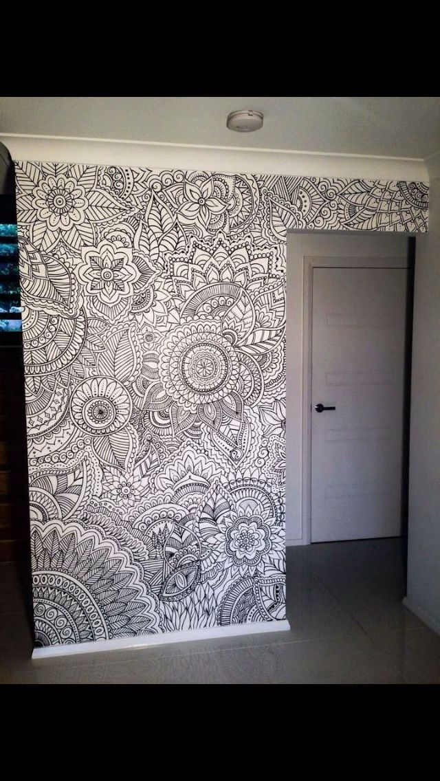 Featured Image of Henna Wall Art