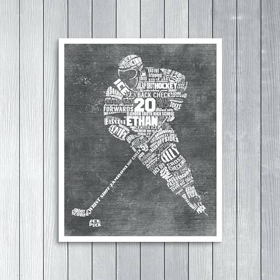 Hockey Wall Art Hockey Metal Wall Art – Footballmasters (Image 3 of 10)