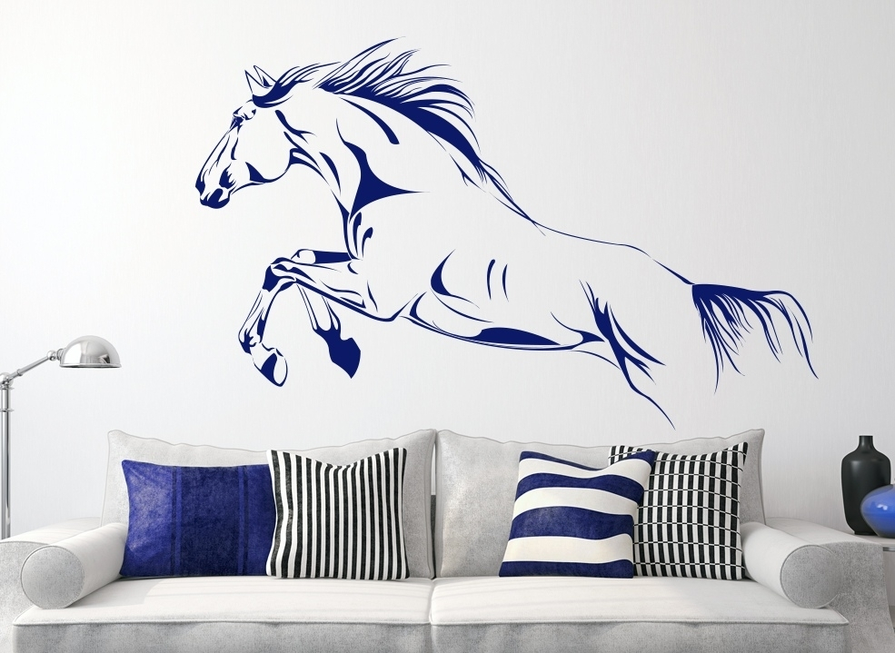Horse Wall Art | Craft Get Ideas Throughout Horse Wall Art (Image 2 of 10)
