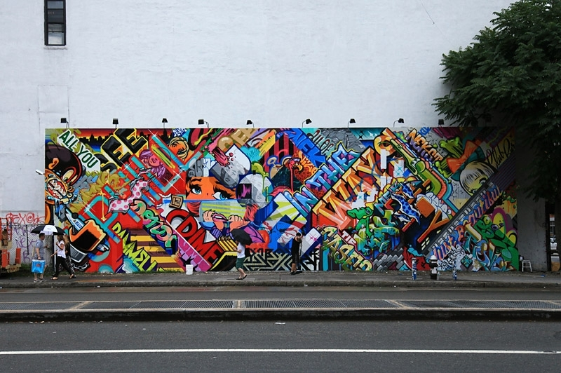Houston Bowery Wall – Art, Mural, Keith Haring, New York City, Urban With Houston Wall Art (Image 5 of 10)