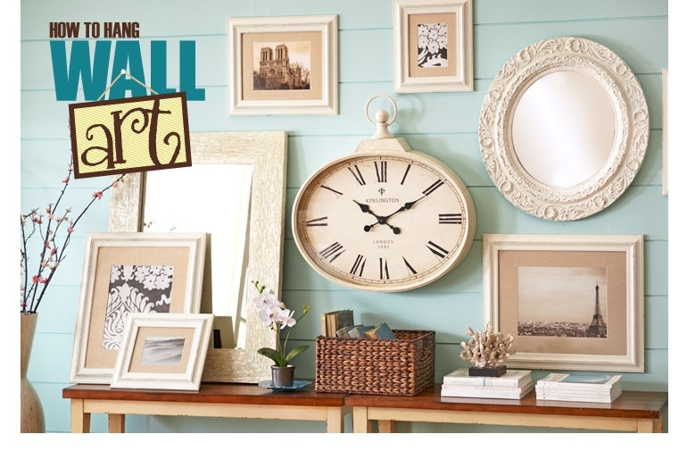 How To Hang Wall Art: Tips To Arrange Wall Decor Pier 1 Imports Inside Pier 1 Wall Art (Photo 10 of 10)
