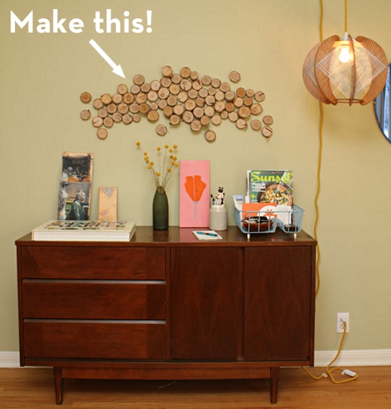 How To: Turn Logs Into Affordable Wall Art! | Curbly Within Affordable Wall Art (Photo 7 of 10)
