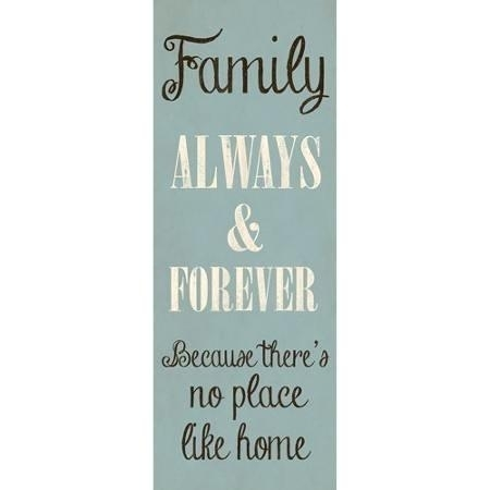 Inspirational Wall Decor Inspirational Wall Art Canvas Family Always With Regard To Inspirational Wall Art Canvas (Image 6 of 10)