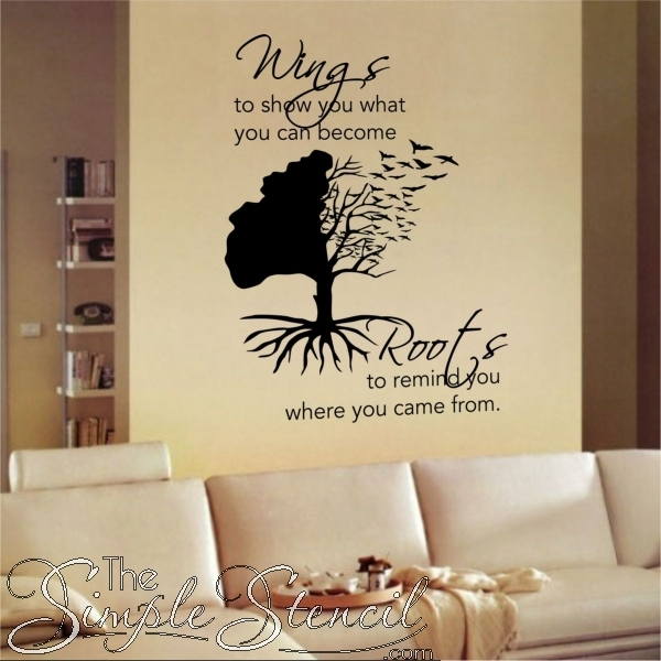 Inspirational Wall Quotes Inspiring Wall Art Decals Simple Stencils For Inspirational Wall Art (View 9 of 10)