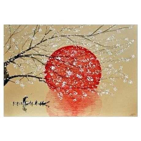 Japanese Wall Art Wall Art Wall Decor Japan Outdoor Wall Decor With Japanese Wall Art (Image 6 of 10)