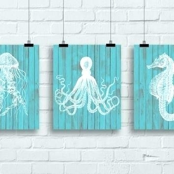 Featured Image of Sea Life Wall Art