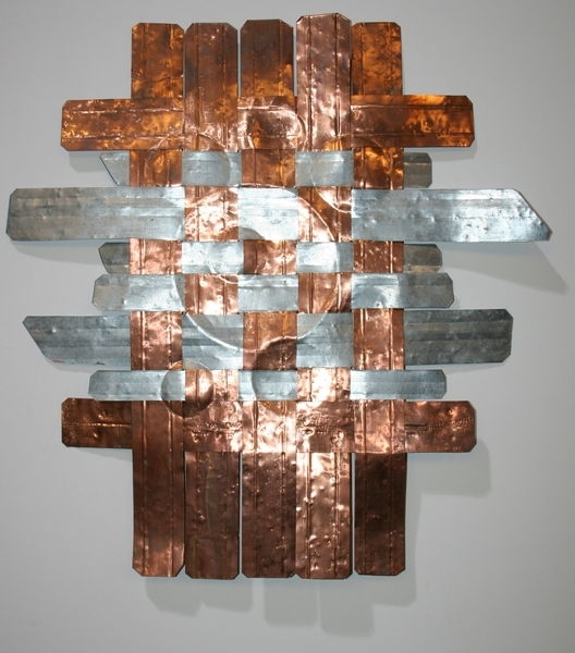 John Sendelbach Metal Wall Art – Steel And Copper Throughout Copper Wall Art (Image 8 of 10)