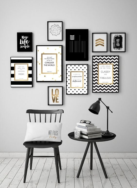 Kate Spade Inspired Artwork Quotes | Diy Design Ideas! | Pinterest Intended For Kate Spade Wall Art (View 8 of 10)