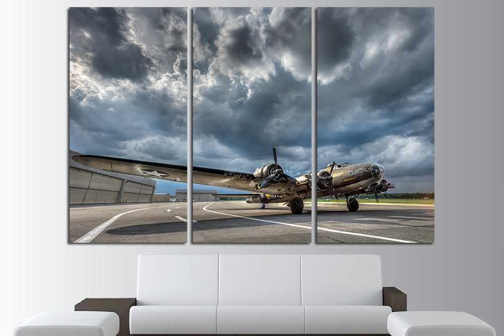 Large Aviation Wall Art : Andrews Living Arts – Cool Themed Aviation Pertaining To Aviation Wall Art (Photo 4 of 10)