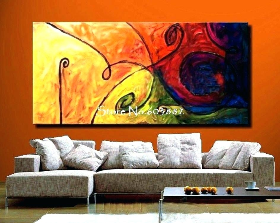 Large Canvas Painting Large Wall Art Canvas Large Wall Paintings For With Large Canvas Painting Wall Art (Photo 1 of 10)