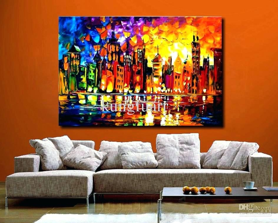 Large Canvas Painting Wall Arts Huge Art Canvas Oversized Other Within Modern Large Canvas Wall Art (Image 10 of 10)