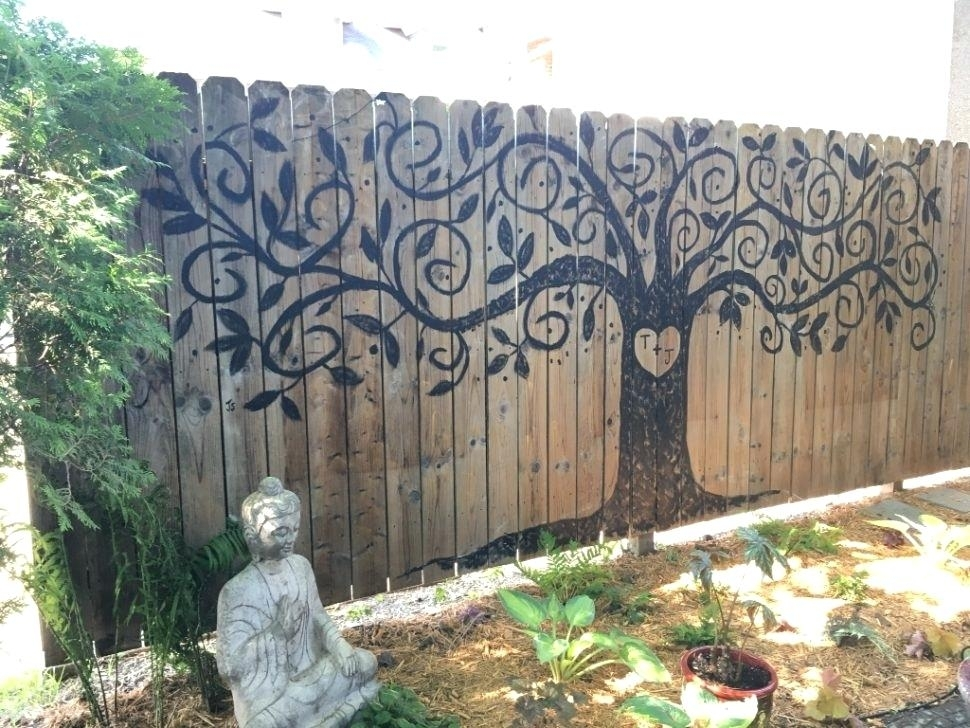 Large Outdoor Wall Art Size Of Garden Murals Ideas Inside Remodel 11 Pertaining To Large Outdoor Wall Art (Photo 5 of 10)