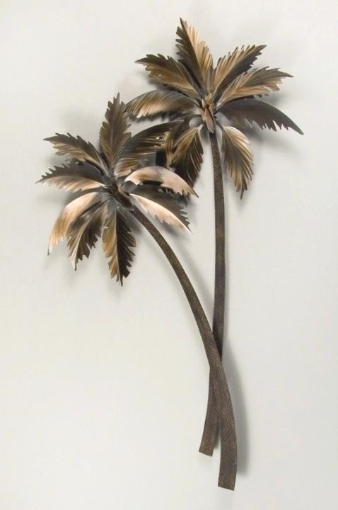 Large Tree Wall Art Ingenious Inspiration Metal Palm Tree Wall Art With Regard To Palm Tree Wall Art (Image 2 of 10)