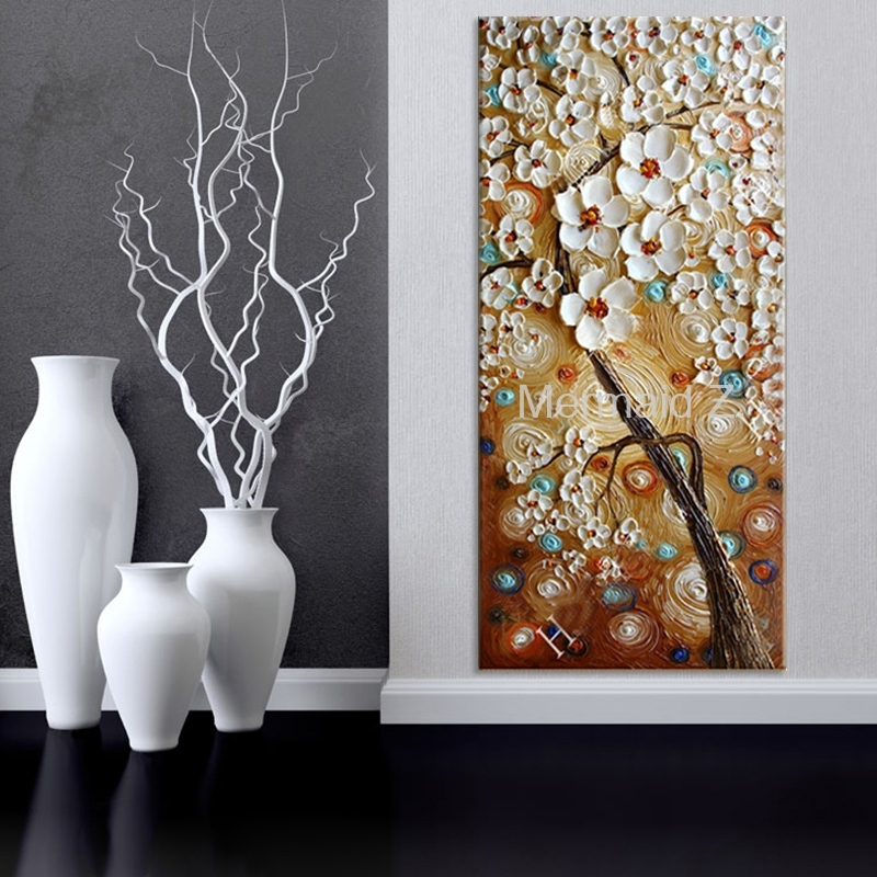 Large Vertical Wall Art Sakura : Andrews Living Arts – Fascinating Throughout Vertical Wall Art (Image 4 of 10)