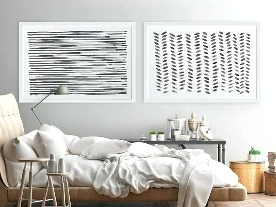 Large Wall Art Modern Wall Art Horizontal Wall Art Abstract Like Intended For Horizontal Wall Art (Photo 10 of 10)