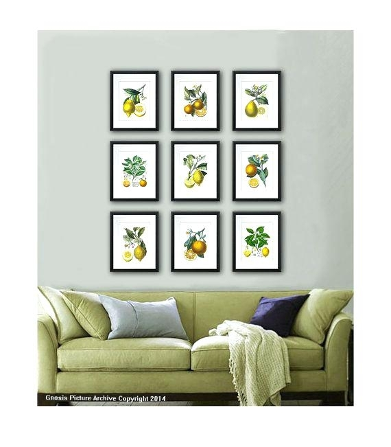 Lemon Wall Art Kitchen – Armistead Within Lemon Wall Art (Image 6 of 10)
