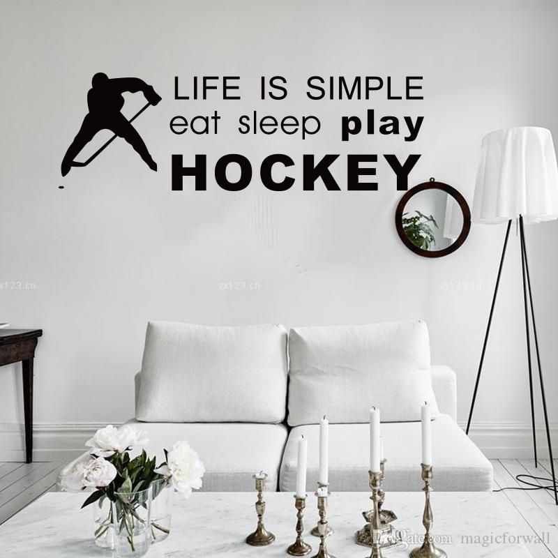 Featured Image of Hockey Wall Art