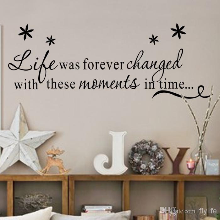 Life Was Forever Changed With These Moments In Time Inspirational In Inspirational Quotes Wall Art (Photo 3 of 10)