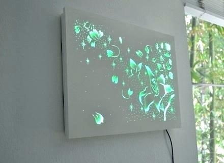 Featured Image of Lighted Wall Art