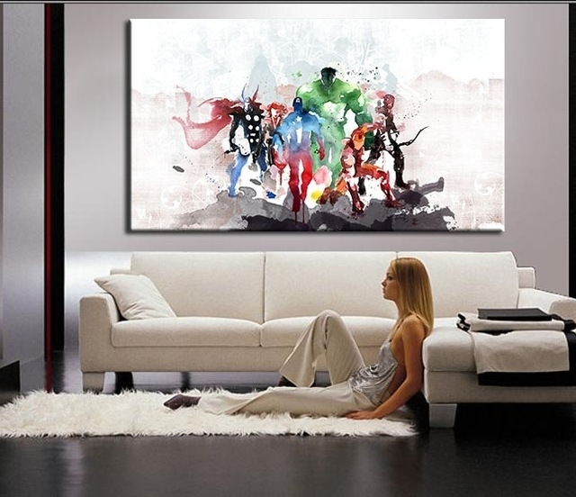 Living Room Wall Art: Classy Or Trashy? – Indemnity Security In Living Room Painting Wall Art (Photo 4 of 10)