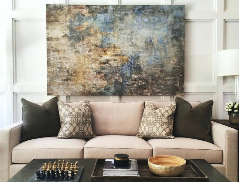 Living Room Wall Art Contemporary Wall Art Ideas – Intercollect.co With Regard To Living Room Wall Art (Photo 4 of 10)