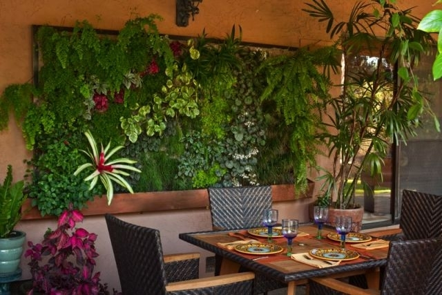 Living Walls And Vertical Gardens – Living Art Intended For Living Wall Art (View 2 of 10)