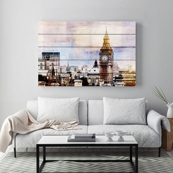 London Big Ben Picture Home Goods Wood Wall Art Decor – Buy Wall Art With Home Goods Wall Art (Image 8 of 10)