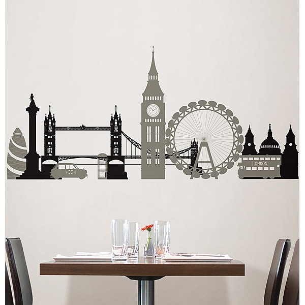 London Calling Wall Art Kit | Wallpops! With Regard To London Wall Art (Image 5 of 10)