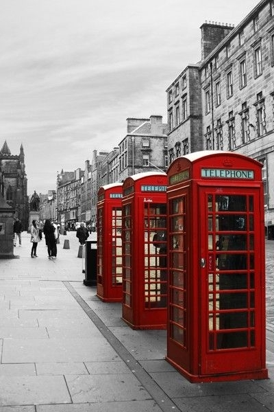 London Wall Art Canvas Print – Red Telephone Booths – Home Photo Throughout London Wall Art (Image 7 of 10)
