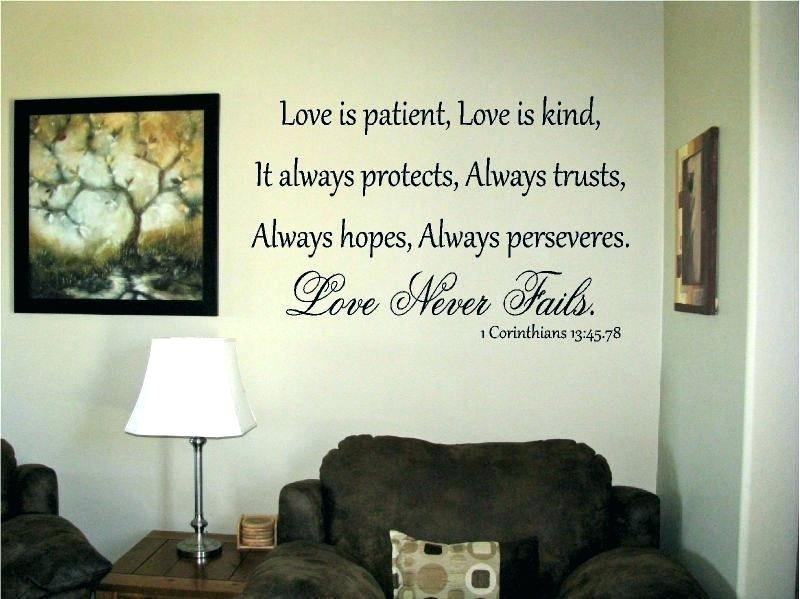 Love Is Patient Wall Art Love Is Patient Wall Art Incredible Ideas With Regard To Love Is Patient Wall Art (Image 5 of 10)