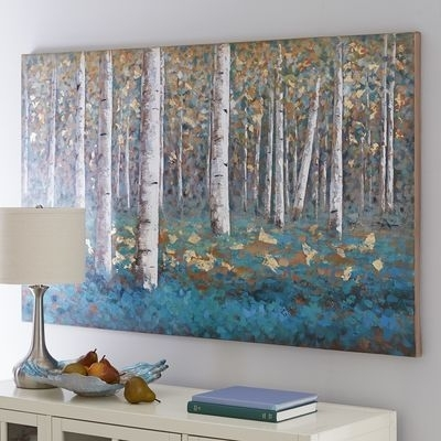 Luxe Teal Birch Tree Art | Pinterest | Tree Art, Birch And Teal Pertaining To Birch Tree Wall Art (Image 8 of 10)