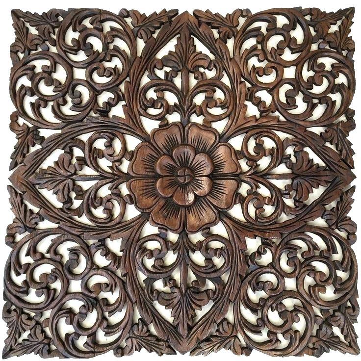 Luxury Ideas Wood Medallion Wall Art Room Decorating Charming Decor For Wood Medallion Wall Art (Image 2 of 10)