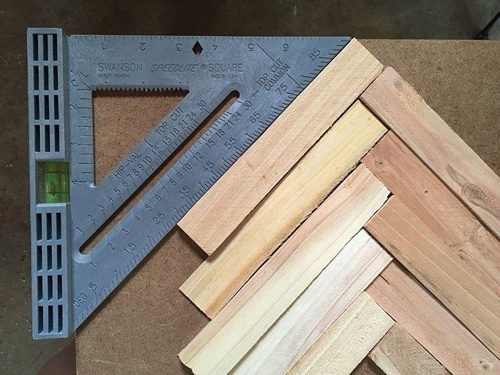 Make Cheap And Easy Wall Art With Wood Shims | Wow | Pinterest Regarding Diy Wood Wall Art (Image 7 of 10)