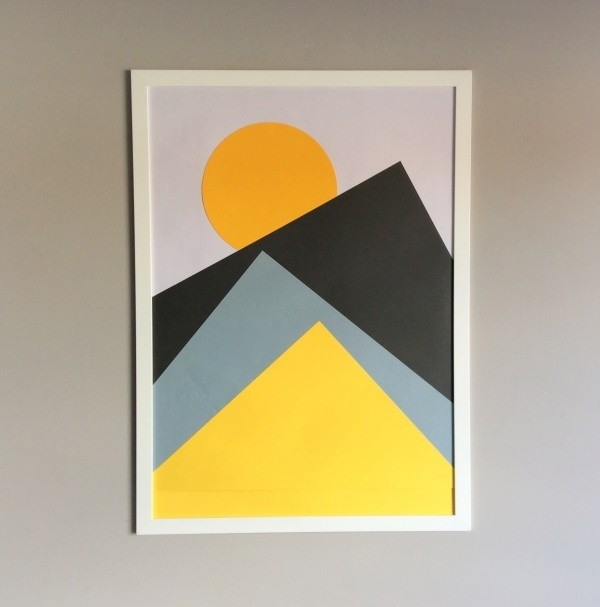 Make Your Own Diy Nordic Wall Art | The Crafty Gentleman In Geometric Wall Art (Image 7 of 10)
