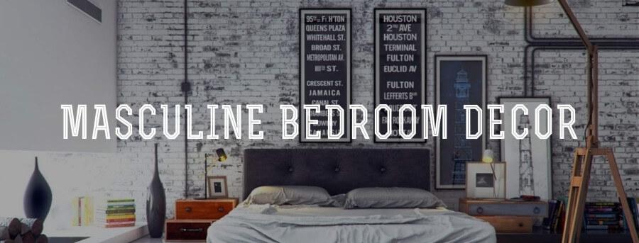 Masculine Bedroom Decor — Gentleman's Gazette Within Wall Art For Men (Image 7 of 10)
