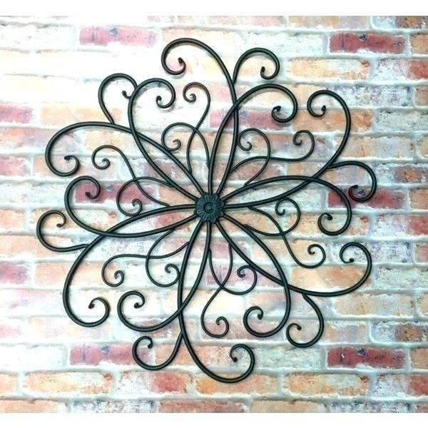 Metal Outdoor Art Wall Plate Design Outdoor Metal Wall Art Outdoor Regarding Metal Outdoor Wall Art (View 7 of 10)