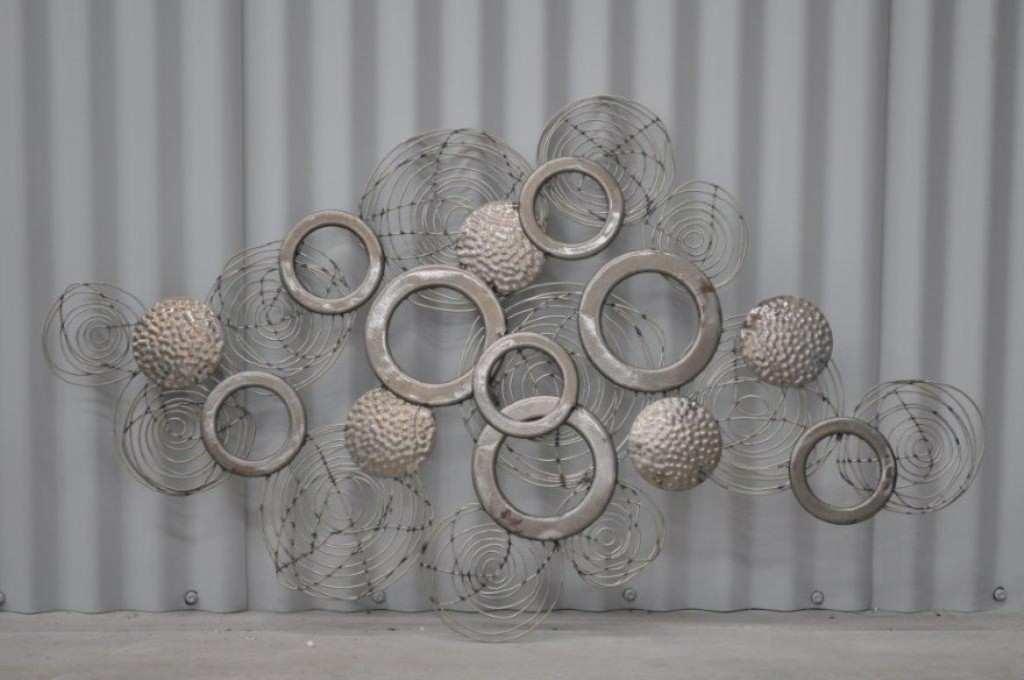 Metal Painting Inspirational Metal Wall Art Decor And Sculptures Regarding Metal Wall Art Decors (Image 5 of 10)