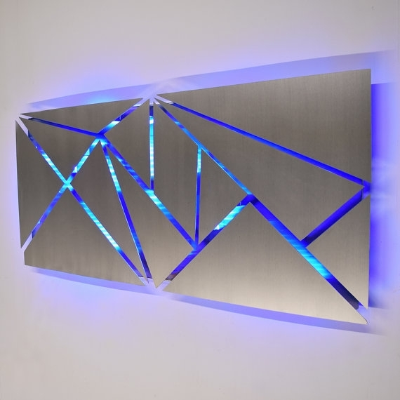 Metal Wall Art Nice Geometric Decoration Ideas Decent Appealing 11 For Geometric Wall Art (Image 8 of 10)