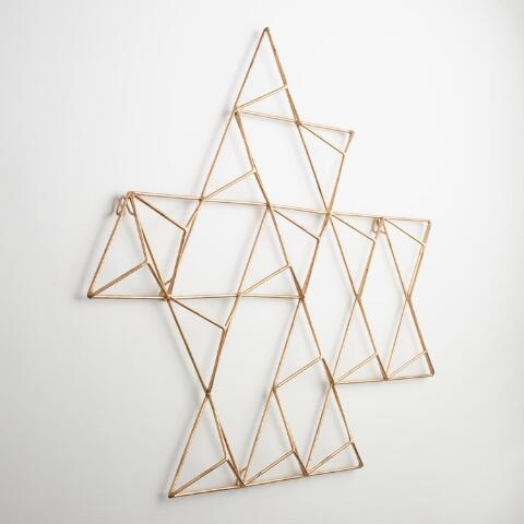 Metal Wall Art Nice Geometric Decoration Ideas Decent Appealing 11 With Geometric Metal Wall Art (Image 8 of 10)