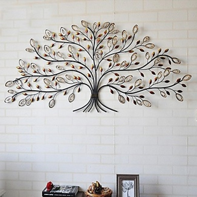 Metal Wall Art Tree Of Life With Regard To Wall Tree Art (Image 6 of 10)