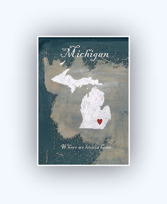 Featured Image of Michigan Wall Art
